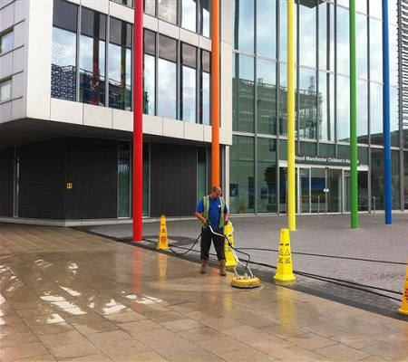 HLS Pressure Washing - Forecourt Cleaning