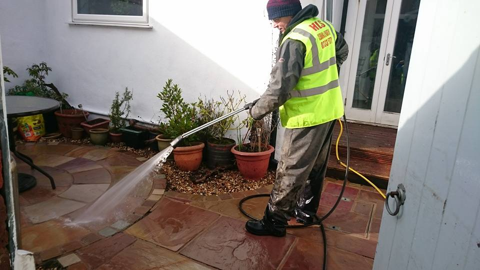 HLS Pressure Washing - Patio Cleaning