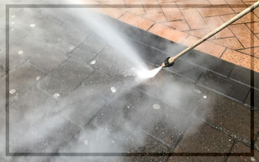 HLS Pressure Washing - Chewing Gum Removal